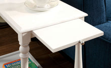 Load image into Gallery viewer, Furniture of America CM-AC222 Deering Transitional White Side Table