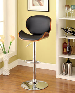 Belo CM-BR6235 Two Tone Leatherette Seat Swivel Bar Stool