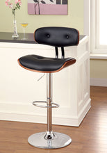 Load image into Gallery viewer, Boa CM-BR6234 Black Two-Tone Leatherette Swivel Bar Stool