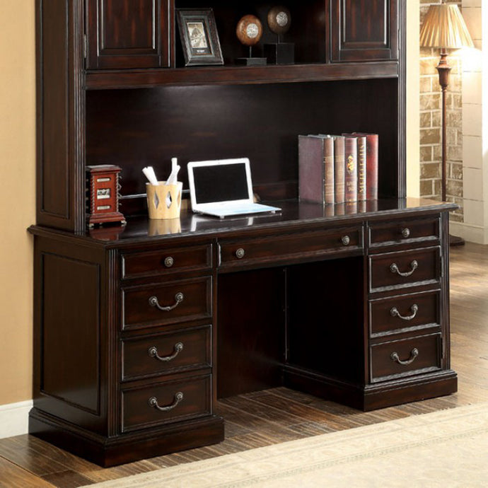 Coolidge CM-DK6208CD Transitional Cherry Finish Office Credenza Desk