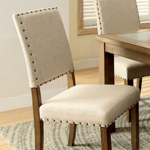 Load image into Gallery viewer, Melston CM3531SC Transitional Natural Tone Finish Side Chair Set of 2