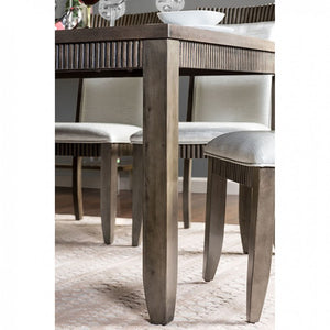 Forbes II CM3435PT Transitional Gray Finish Counter Height Table