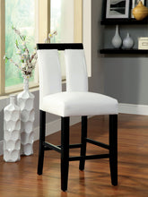 Load image into Gallery viewer, Luminar CM3559PC Contemporary Espresso Counter Height Chairs Set of 2