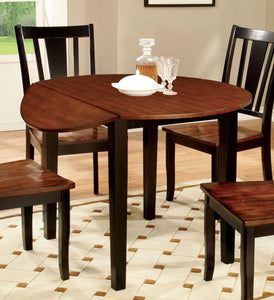 Dover CM3326BC-RT Transitional Black Cherry Wood Round Dining Table