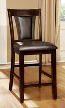 Load image into Gallery viewer, Brent II CM3984DK-PC Dark Cherry Brown Counter Height Chairs Set of 2
