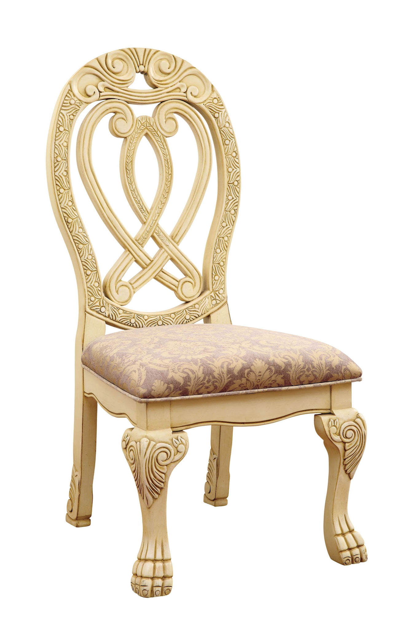 Furniture Of America Cm3186wh Sc Wyndmere Traditional