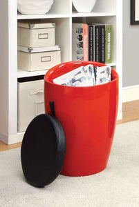 Rolla CM-AC6228RD Red Storage Stool