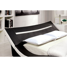 Load image into Gallery viewer, Furniture of America Zelina Contemporary Black and White Queen Platform Bed