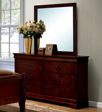 Load image into Gallery viewer, Louis Philippe III CM7866CH-D Contemporary Cherry Dresser Mirror Set