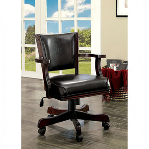 Rowan CM-GM340CH-AC Contemporary Cherry Arm Chair