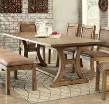 Load image into Gallery viewer, Gianna CM3829T Transitional Style Rustic Pine Finish Dining Table
