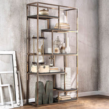 Load image into Gallery viewer, Elvira CM-AC6264CPN Contemporary Champagne Metal Display Shelf