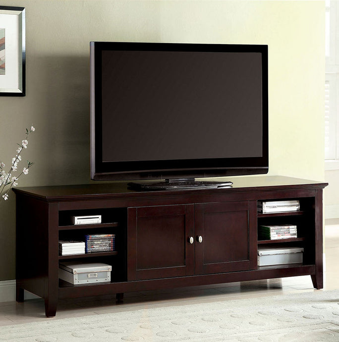 Maris CM5331-TV Contemporary Dark Cherry Finish 72