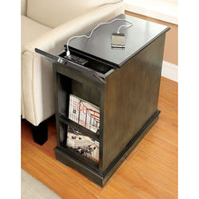 Load image into Gallery viewer, Lilith I CM-AC171GY Transitional Gray Finish Side Table