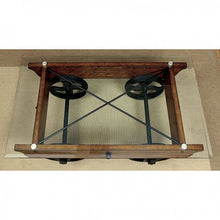 Load image into Gallery viewer, Penny CM4318C Industrial Medium Weathered Oak Wood Coffee Table