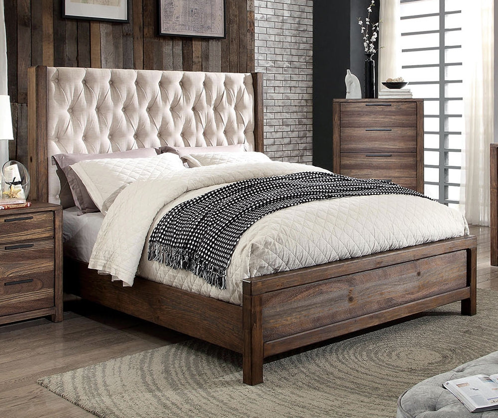 Furniture of America CM7577Q Hutchinson Transitional Queen Bed