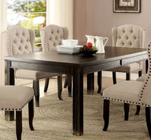 Load image into Gallery viewer, Sania I CM3324BK-T Contemporary Antique Black Finish Dining Table