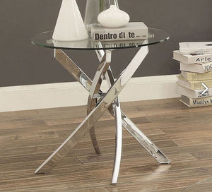 Laila Living Room End Table CM4241E Furniture Of America