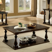 Load image into Gallery viewer, Luan Living Room Dark Walnut Coffee Table CM4420C Furniture Of America