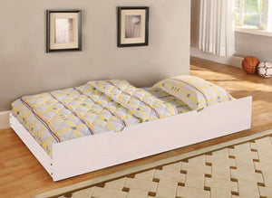 Omnus White CM-TR452-WH Twin Trundle For Bunk Bed
