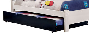 Omnus Blue CM-TR452-BL Twin Trundle For Bunk Bed