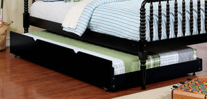 Omnus Black CM-TR452-BK Twin Trundle For Bunk Bed