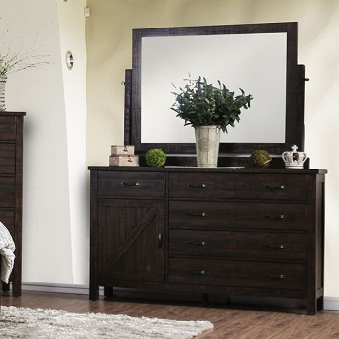 Furniture of America CM7435EX-D Brenna Espresso Finish Dresser
