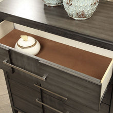 Load image into Gallery viewer, Furniture of America CM7580GY-C Berenice Transitional Gray Chest