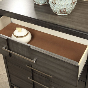 Furniture of America CM7580GY-C Berenice Transitional Gray Chest