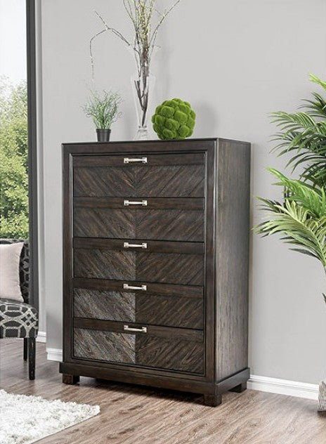Furniture of America CM7315C Argyros Transitional Espresso Chest