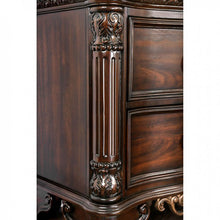 Load image into Gallery viewer, Furniture of America CM7311N Menodora Brown Cherry Finish Nightstand