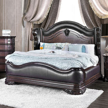 Load image into Gallery viewer, Furniture of America CM7859CK Arcturus Brown Cherry Cal.King Bed