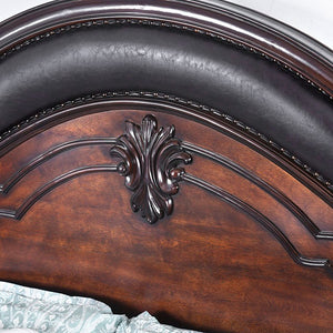 Furniture of America CM7859CK Arcturus Brown Cherry Cal.King Bed