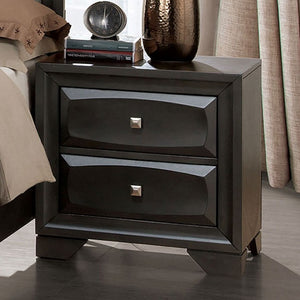 Furniture of America CM7553N Clotilde Transitional Gray Nightstand