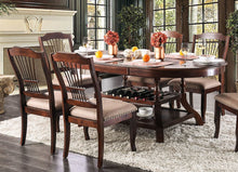 Load image into Gallery viewer, Furniture of America CM3626T Jordyn Brown Cherry Finish Dining Table