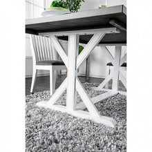 Load image into Gallery viewer, Furniture of America CM3761T Kathleen White/Gray Dining Table