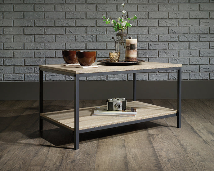 Sauder North Avenue Collection Charter Oak Finish Coffee Table