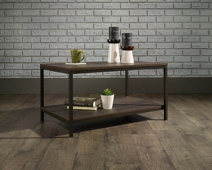 Sauder North Avenue Collection Smoked Oak Finish Coffee Table