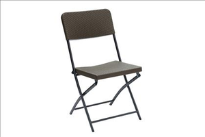 Steel Frame Outdoor Chair Set Of 6 Poundex