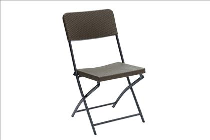 Poundex Steel Frame Outdoor Chair Set Of 6