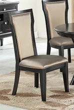 Load image into Gallery viewer, Poundex F1778 Black Finish Dining Chair Set of 2