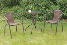 Load image into Gallery viewer, Poundex Metal Traditional Outdoor Dining Table