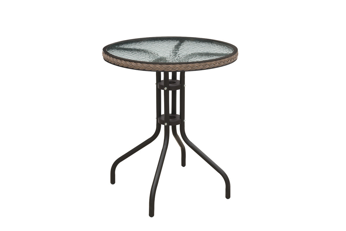 Poundex Metal Traditional Outdoor Dining Table
