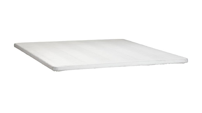 Poundex White Fabric Finish Queen Bunkie Board