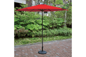 Red Finish 10 inches Umbrella by Poundex