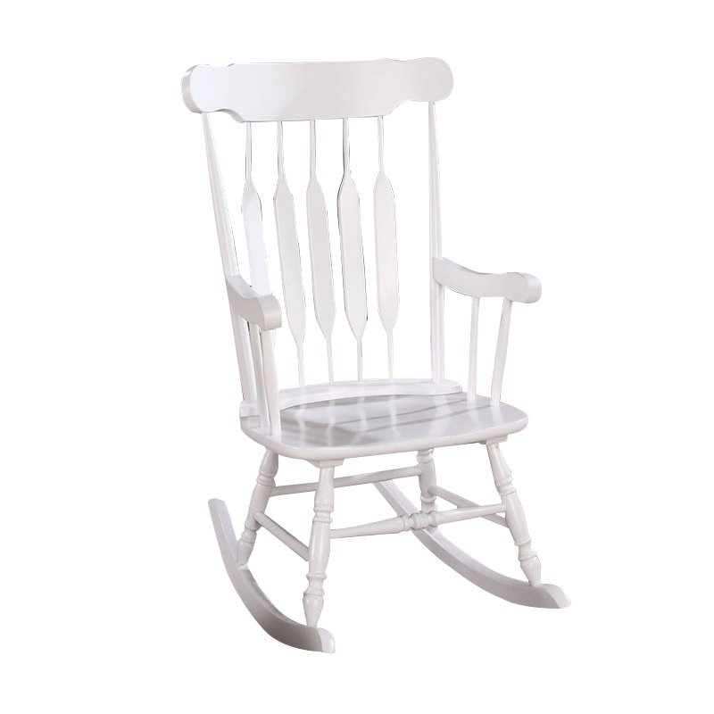 Acme Kloris White Rocking Chair
