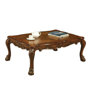 Acme 12165 Dresden Traditional Cherry Oak Coffee Table