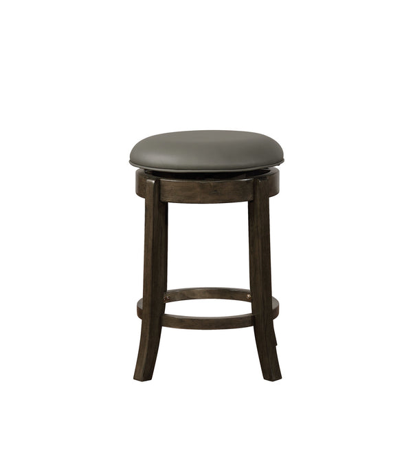 Powell Oden Barstool Grey Finish