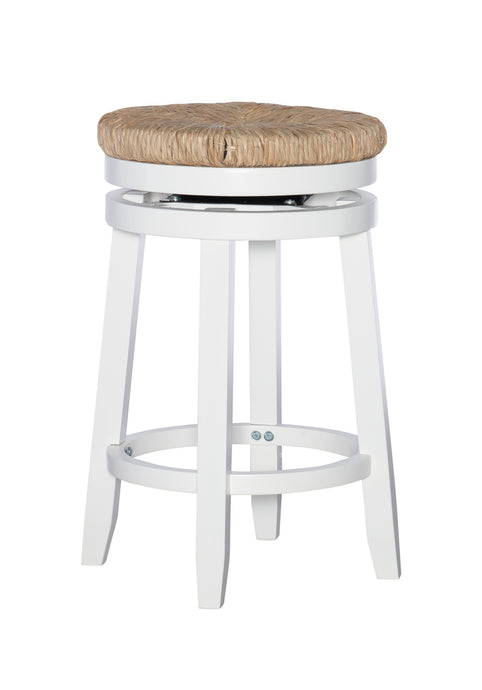 Powell Maya White Counter Stool