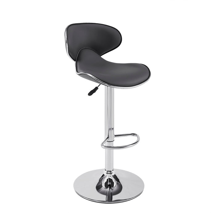 Powell GREY ADJUSTABLE PU BARSTOOL